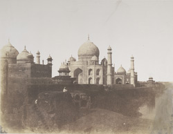 Taj from the East, [Agra]